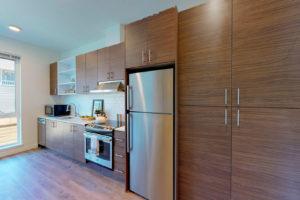 OpenBedroom-Kitchen